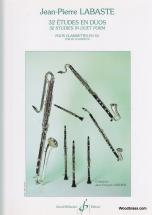 Labaste, J.p. - 32 Etudes En Duo - Clarinette