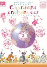 Vonderscher Arielle, Muriel Et Olivier - Chansons Enchantees Vol.2 + Cd - Livre De L'eleve