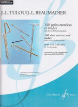 Tulou Jean-louis - 140 Petits Exercices Et Etudes, Tires De La Methode Populaire - Flute Piccolo