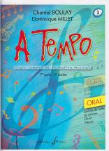 Boulay/millet - A Tempo Vol.3 Oral