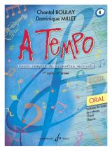 Boulay/millet - A Tempo Vol.4 Oral