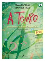 Boulay/millet - A Tempo Vol.4 Ecrit