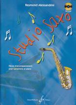 Alessandrini, R. - Studio Saxo Vol. 1 + Cd - Saxophone