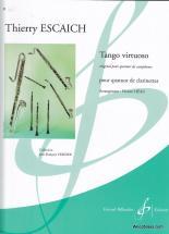 Escaich T. - Tango Virtuoso - 4 Clarinettes
