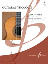 Horreaux Jean - Guitaranthologie Vol.2 + Cd - Guitare