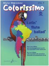 Ombredane Olivier - Colorissimo Vol.1 + Cd - Flûte