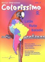 Ombredane Olivier - Colorissimo Vol.2 + Cd - Flute