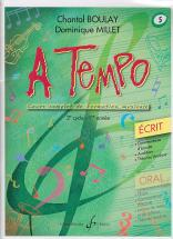 Boulay/millet - A Tempo Vol.5 Ecrit
