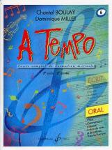 Boulay/millet - A Tempo Vol.6 Oral