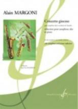 Margoni Alain - Concerto Giocoso - Saxophone & Piano