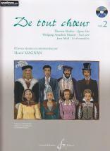 Magnan H. - De Tout Choeur Vol. 2 + Cd