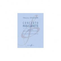 Escaich Thierry - Concerto Pour Clarinette