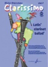 Ombredane Olivier - Clarissimo Vol.1 + Cd - Clarinette