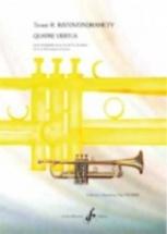 Ratovondrahety Touve R. - Quatre Vertus - Trompette & Piano