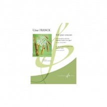 Cesar Franck - Solo Pour Concours - Saxophone Et Piano