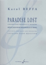 Beffa Karol - Paradise Lost - Violoncelle and Piano