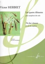 Herbiet Victor - Les Quatre Elements - Saxophone Alto Solo