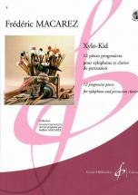 Macarez Frederic - Xylo-kid 12 Pieces Progressives Pour Xylophone Et Clavier De Percussion