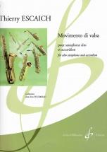 Escaich Thierry - Movimento Di Valsa - Saxophone Alto and Accordeon