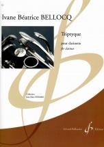 Bellocq Ivane Beatrice - Triptyque - Clarinette