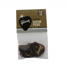 Gibson Tortoise Picks, 12 Pack, Heavy