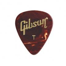 Gibson Tortoise Picks, 12 Pack, Thin
