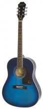Epiphone Ltd Ed Aj-200s Trans Blue