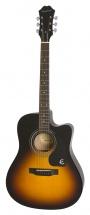 Epiphone Guitar Ft-100ce Vintage Sunburst