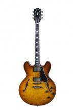 Gibson Limited Editions Es-335 Premiere Figured Faded Lightburst Nickel 2016 + Etui