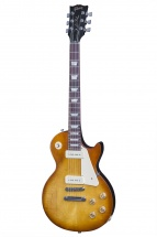 Gibson Les Paul Lp 60s Tribute 2016 Hp Satin Honeyburst Dark Back + Housse