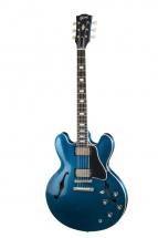 Gibson Custom Shop Es-335 Block Candy Apple Blue Heavy Aged Nh 2018