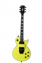 Gibson Modern Les Paul Axcess Custom Neon Yellow Black Floyd Neon Yellow