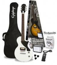 Epiphone Pro-1 Les Paul Jr. Rocksmith Pack Alpine White