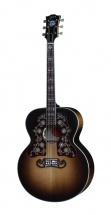Gibson Sj-200 Custom Bob Dylan Vintage Sunburst + Etui