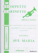 Gounod Charles - Ave Maria - Trompette, Piano