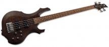 Ltd Guitars Basses Electriques F Modele 200 Marron Flamme Satine