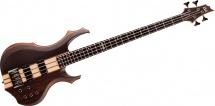 Ltd Guitars Basses Electriques F Modele 404 4 Cordes Naturel Satin