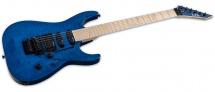 Ltd Guitars Mh203qm-stb See Thru Blue