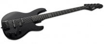 Ltd Guitars Basses Electriques Signature Orion Noir Satine