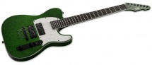 Ltd Guitars Stephen Carpenter Modele 600 Vert Paillete