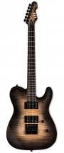 Ltd Guitars Te-1000 Evertune Black Natural Burst