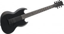 Ltd Guitars Black Metal Noir Satine