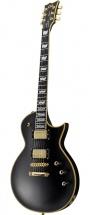 Ltd Ges Ec1000sd-vbk Guitares Standard Serie Ec Modele 1000 Noir Vintage Seymour