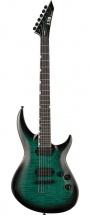 Ltd Guitars H31000fm-blktb Black Turquoise Burst