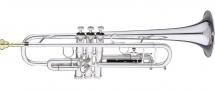 Getzen Trompette Sib Semi-pro Getzen 590ss Capri (argentee)