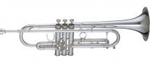 Getzen Trompette Professionnelle Getzen Sib Eterna 900s Argentee