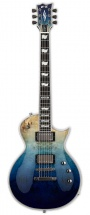 Esp E-ii Eclipse Burled Maple Blue Natural Fade