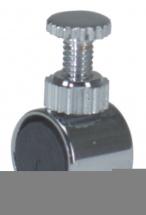 Gewa Eliminateur Violons/altos Petit Eliminateur Cylindrique Chrome