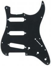 Partsland Plaques De Protection Modele Stratocaster Noir, 3 Plis