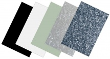 Partsland Plaques De Protection Plaque Plastique Noir, 3 Plis